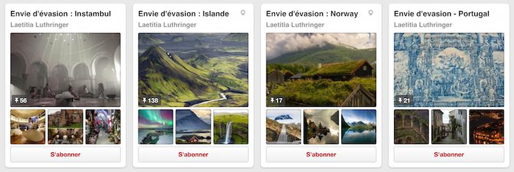 Trouver l'inspiration pour les destinations vacances