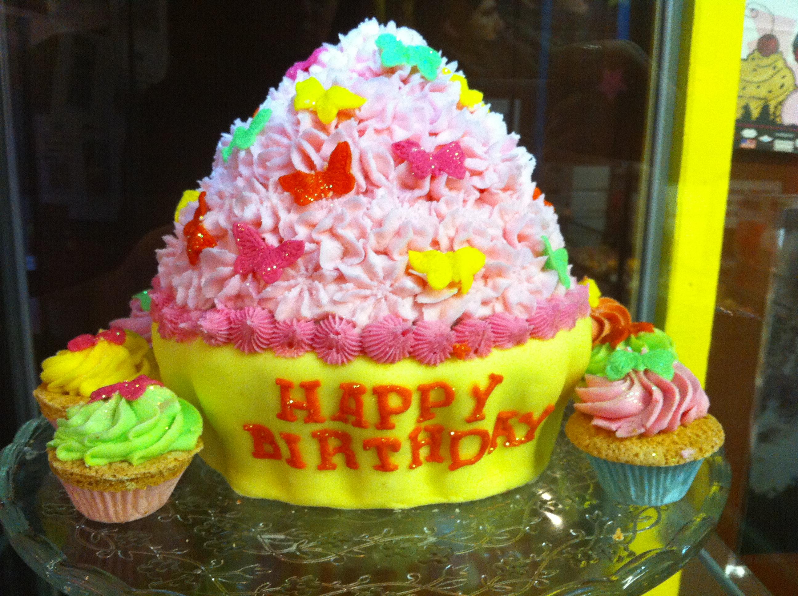 Les cupcakes ce déclinent en version mini, normale et king size