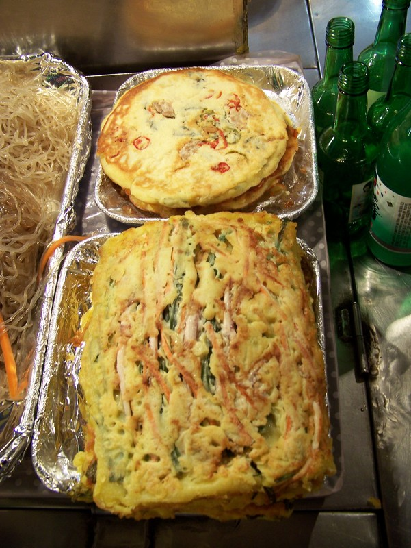 Les galettes / omelettes