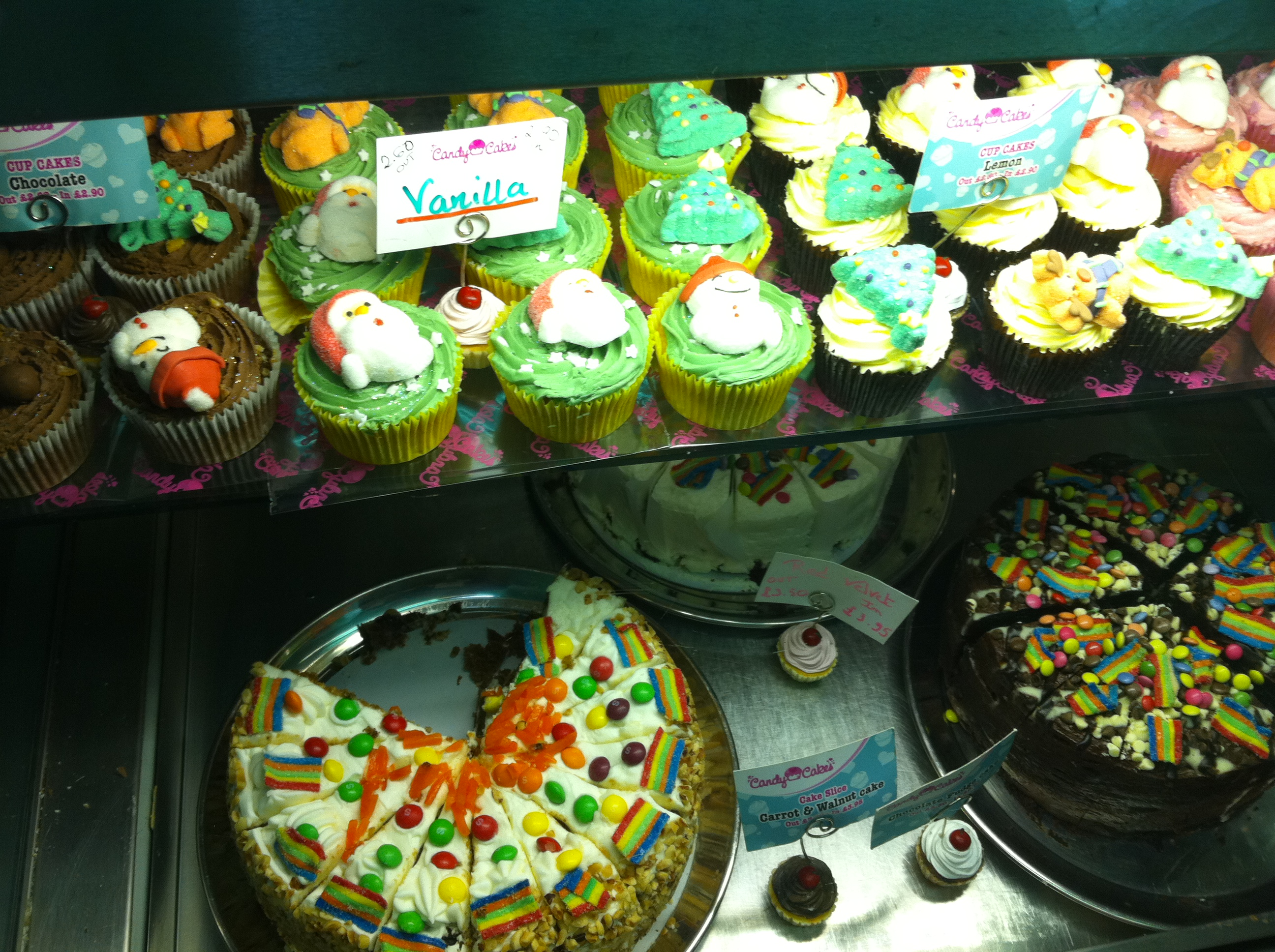 Des cupcakes jusqu'à plus faim