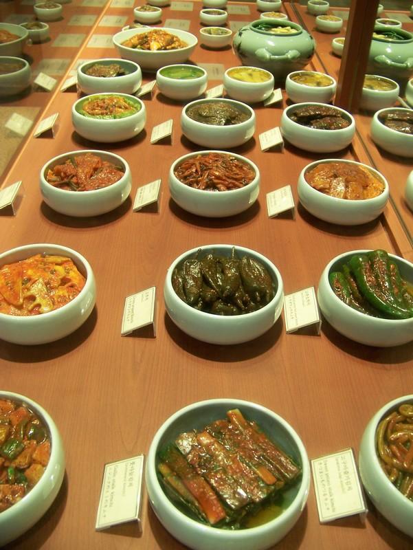 Présentation de quelques Kimchi différents