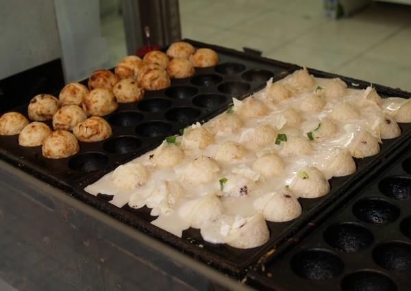 Fabrication des takoïaki